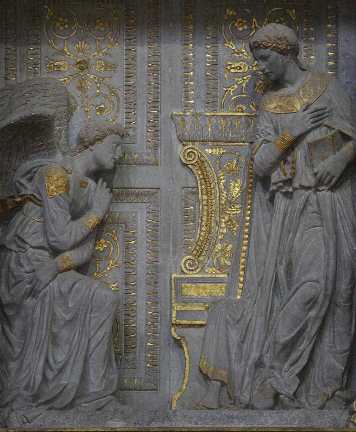 donatellos annunciation (donato di nicolÒ di betto bardi) one of the great tuscan sculptors of the renaissance, born at florence, c 1386 died there, 13 dec, 1466 he was the son of.